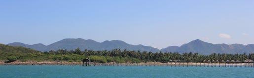 ‹Â€ ‹â€ моря в Nha Trang Стоковое Фото