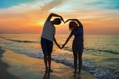 ‹Del †del ‹del †del mar del amor del ‹del †del ‹del †Fotos de archivo