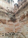 ‹del †del ‹del †de la ciudad del monumento histórico de Meknes imagen de archivo