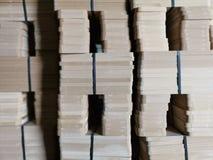 ‹Del wood†del ‹de Mdf†foto de archivo libre de regalías