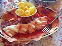 ‹Do 😠do aperitivo de Valdostano fotografia de stock royalty free