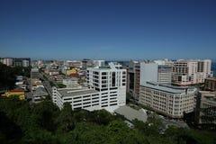 ‹Kota Kinabalu Sabah do †do ‹do †da cidade imagens de stock