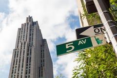‹MANHATTAN, NEW YORK d'†Photo libre de droits