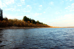‹Sunny†на реке стоковое фото rf