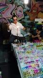 ‹Tailandia del mai†del ‹di Chiang†del ‹del in†del ‹di Night†Fotografia Stock