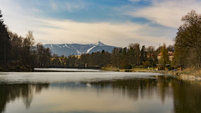 › D för JeÅ ¡ tÄ bak sjön Royaltyfri Fotografi