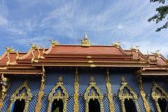 €à¸ªà¸ del ¹ del à del ‡ del ˆà¸à¸ del ¹ del รà di Wat Rong Sua Ten (วัค·€à¸ del ¹ del à¸à•à¸™ del ‰ del ¹ del à) Immagini Stock Libere da Diritti
