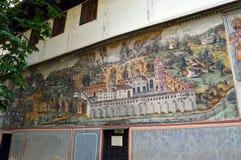 €œAssumption del monasterio de Bachkovo de los iconos del  santo de Virgin†fotos de archivo libres de regalías
