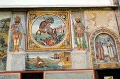 €œAssumption del monasterio de Bachkovo de los iconos del  santo de Virgin†fotografía de archivo