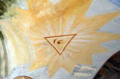 €œAssumption del monasterio de Bachkovo de los iconos del  santo de Virgin†imagenes de archivo