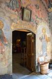 €œAssumption del monasterio de Bachkovo de los iconos del  santo de Virgin†fotos de archivo