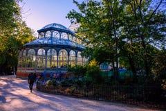 €œBuen el parque del  de Retiro†en Madrid foto de archivo