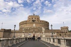 €™Angelo Castel Santâ royalty-vrije stock foto