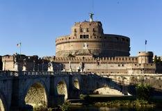 €™Angelo de Castel Santâ Fotografia de Stock