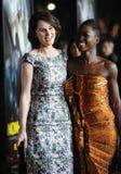 €™o de Michelle Dockery y de Lupita Nyongâ Fotos de archivo libres de regalías