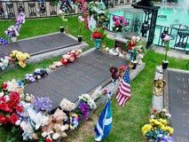 €™s de Elvis Presleyâ graves Fotografía de archivo libre de regalías