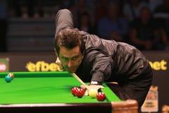 €™Sullivan Ronnie Oâ nimmt an der Snookershow die elf 30 Reihen 2016 teil Stockfotografie