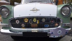 € «июль 1960 Opel Rekord июля 1957 - немецкий автомобиль стоковое изображение rf