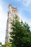 € «Париж Jacques Святого башни, Франция Стоковая Фотография