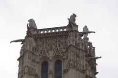 € «Париж Jacques Святого башни, Франция Стоковое фото RF