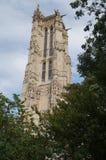 € «Париж Jacques Святого башни, Франция Стоковое Фото