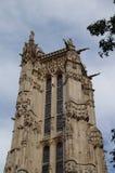 € «Париж Jacques Святого башни, Франция Стоковая Фотография RF