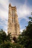 € «Париж Jacques Святого башни, Франция Стоковые Изображения RF