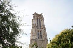 € «Париж Jacques Святого башни, Франция Стоковое Изображение