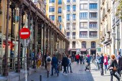 € «03 Spagna/di Madrid 03 2019: Mercado de San Miguel nel mercato dell'alimento di Madrid Spagna fotografia stock