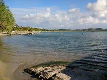 € «Cobo Rojo пляжа Isla Ratones, Пуэрто-Рико Стоковое Изображение RF