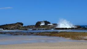 € «Isabela пляжа Playa Pesquera, Пуэрто-Рико Стоковое Фото