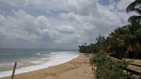 € «Loquillio пляжа Loquillio, Пуэрто-Рико Стоковые Изображения