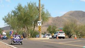 """€ """"11/05/2017 de Phoenix, EUA: A parada do dia de veteranos Shriners 2017 vai dentro carros"""