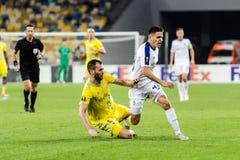 """€ """"Astaná, Septem de Kyiv del dínamo del partido de fútbol de la liga del Europa de la UEFA imagenes de archivo"""