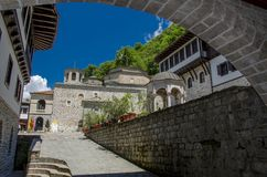 "€ ""Macedônia do monastério de Bigorski - St John Monastery, Mavrovo fotografia de stock"