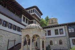 "€ ""Macedônia do monastério de Bigorski - St John Monastery, Mavrovo fotos de stock"