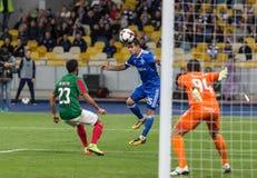 """€ """"Maritimo, Augu de Kyiv del dínamo del partido de fútbol de la liga del Europa de la UEFA Imagen de archivo libre de regalías"""