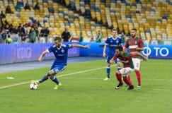 """€ """"Maritimo, Augu de Kyiv del dínamo del partido de fútbol de la liga del Europa de la UEFA Fotos de archivo libres de regalías"""