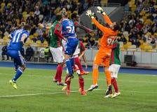 """€ """"Maritimo, Augu de Kyiv del dínamo del partido de fútbol de la liga del Europa de la UEFA Imagenes de archivo"""