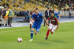 """€ """"Maritimo, Augu de Kyiv del dínamo del partido de fútbol de la liga del Europa de la UEFA Foto de archivo"""