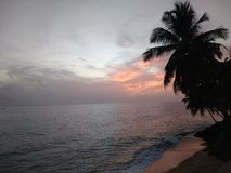 "€ ""Stella da praia de Playa Corcega, Porto Rico imagem de stock"