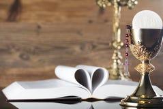 """€ cattolico """"Pasqua di feste Posto per tipografia ed il logo Fotografia Stock"""