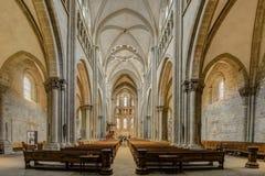 """€ de GINEBRA, SUIZA """"29 de agosto de 2017: Catedral del ` s de San Pedro fotografía de archivo libre de regalías"""