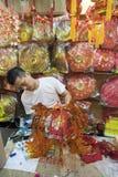 """€ de KUALA LUMPUR, MALASIA """"papel-cortes del 23 de enero de 2011 por el Año Nuevo chino Fotografía de archivo libre de regalías"""