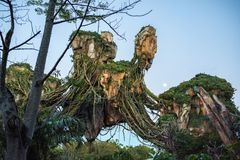 "€ de Pandora ""o mundo do Avatar no reino animal em Walt Disney World Fotos de Stock"