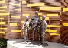 """€ de Redcliffe """"el monumento de Bee Gees Fotografía de archivo libre de regalías"""