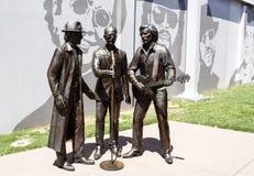 """€ de Redcliffe """"el monumento de Bee Gees Fotografía de archivo"""