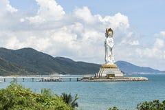 """€ de Sanya, China """"30 de septiembre de 2017: Guanyin de Nanshan Foto de archivo libre de regalías"""