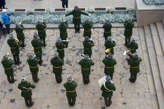 "€ de VOLGOGRAD ""o 15 de outubro: Parada militar Foto de Stock Royalty Free"