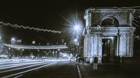 "€ di CHISINAU, MOLDAVIA ""21 dicembre 2015: Arco trionfale di Chisinau Fotografia Stock"